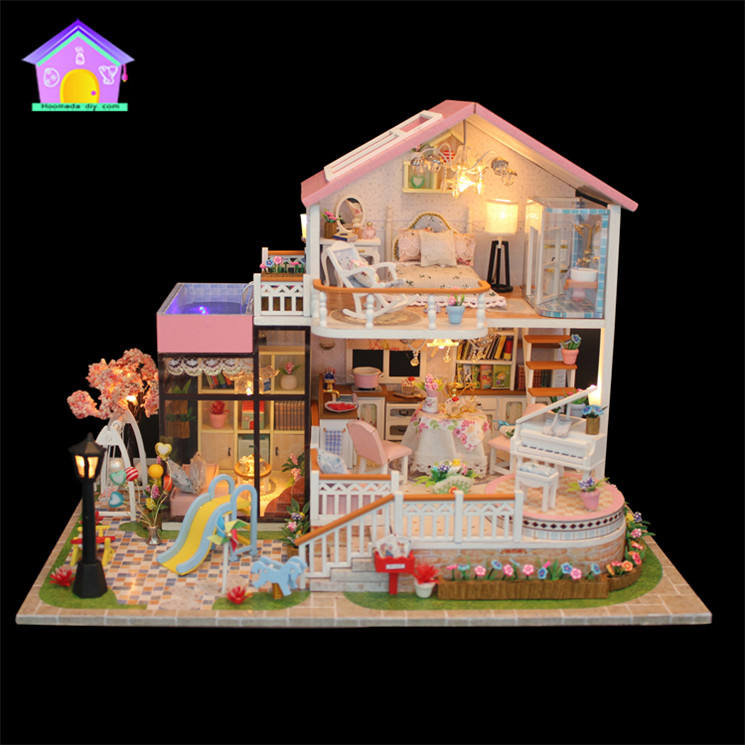 Supply to lifestyle concept shop diy dream villas toy beautiful diy doll houses