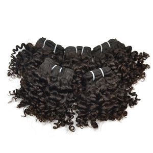 Very Cheap Factory Price 8 Inch Curly Brazilian Hair Bundles Ladies Loving Short Brazilian Curly Hair