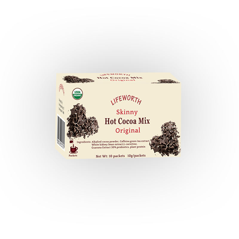 Lifeworth slimming dark hot cocoa powder