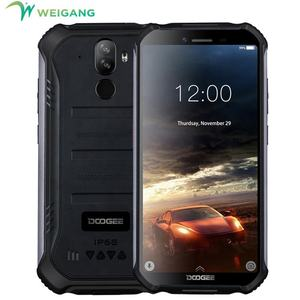 Meng-upgrade 3GB + 32GB Doogee S40 Layar 5.5 Inci MTK6739 Quad Core Android 9.0 Smartphone 4G Kasar telepon