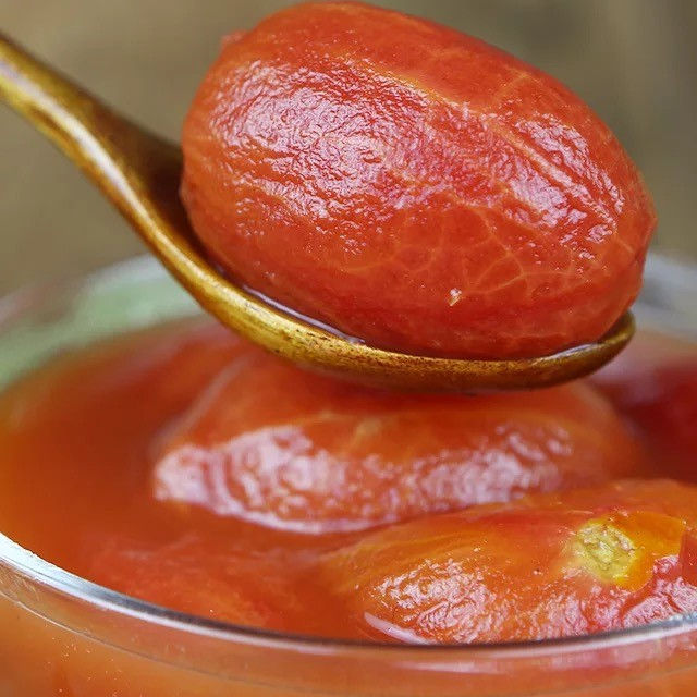 canned peeled tomato (whole)