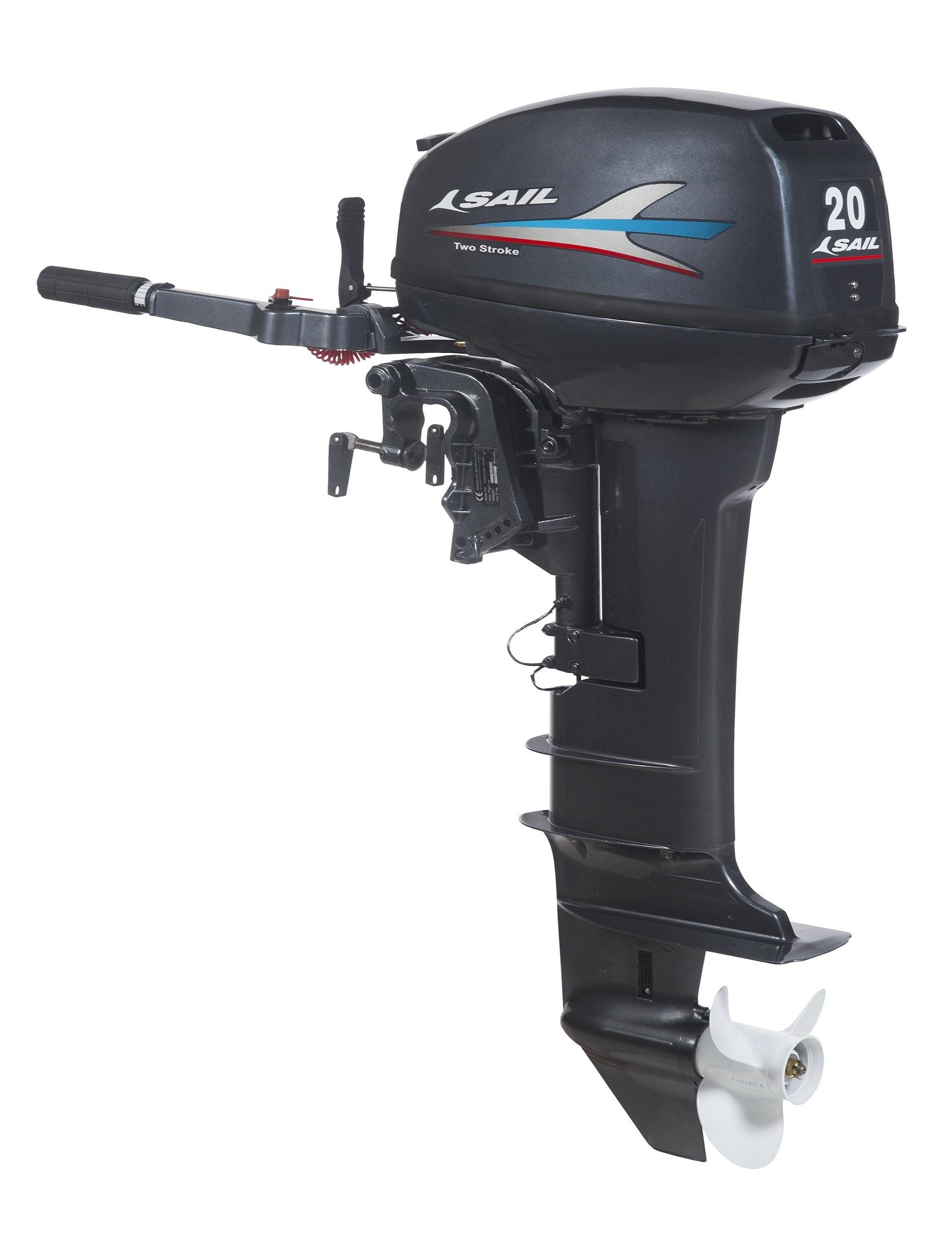SAIL 2 stroke 20hp outboard motor / outboard engine / boat engine