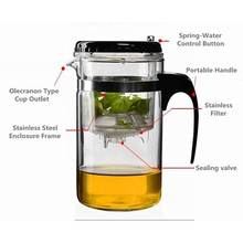 Promotional Glass Teapot Loose Leaf Tea Pot With Removable Infuser