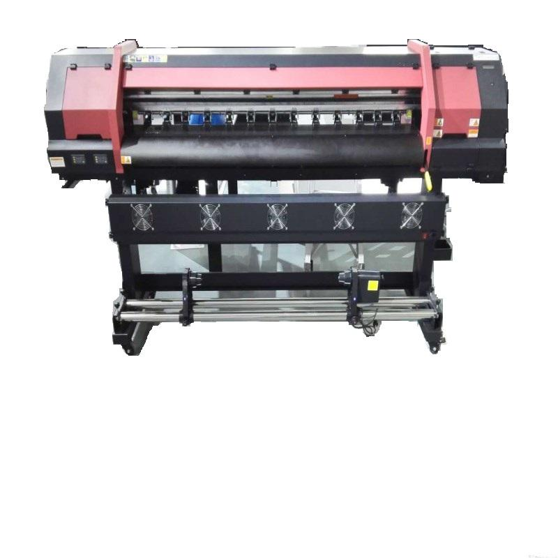 1.8M Eco Solvent Printer Met Dx5 Printkop Voor Flex Banner Drukmachine