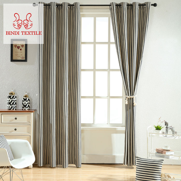 Shaoxing CYR003 High Yarn Dyed Rolling Curtain Fabric Names