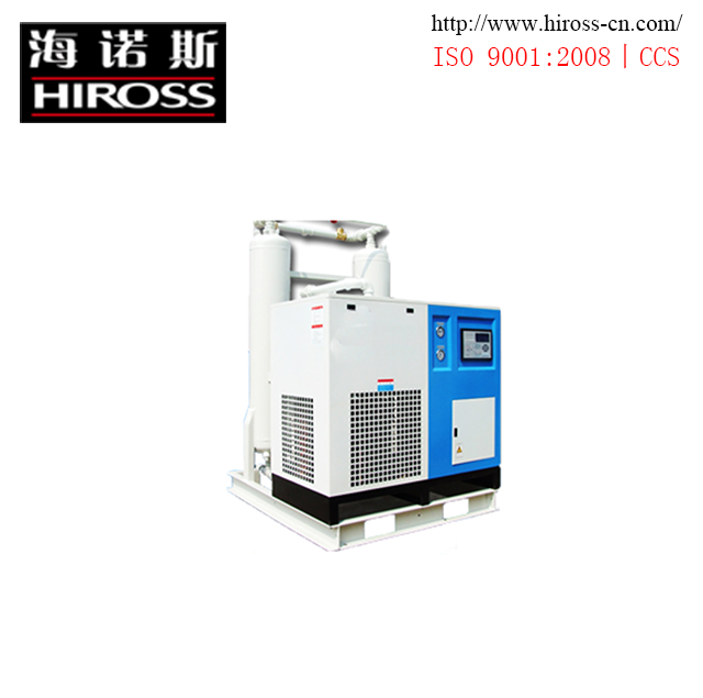 Combining Dry Unit Freeze Desiccant Air Dryer With Long Desiccant Life