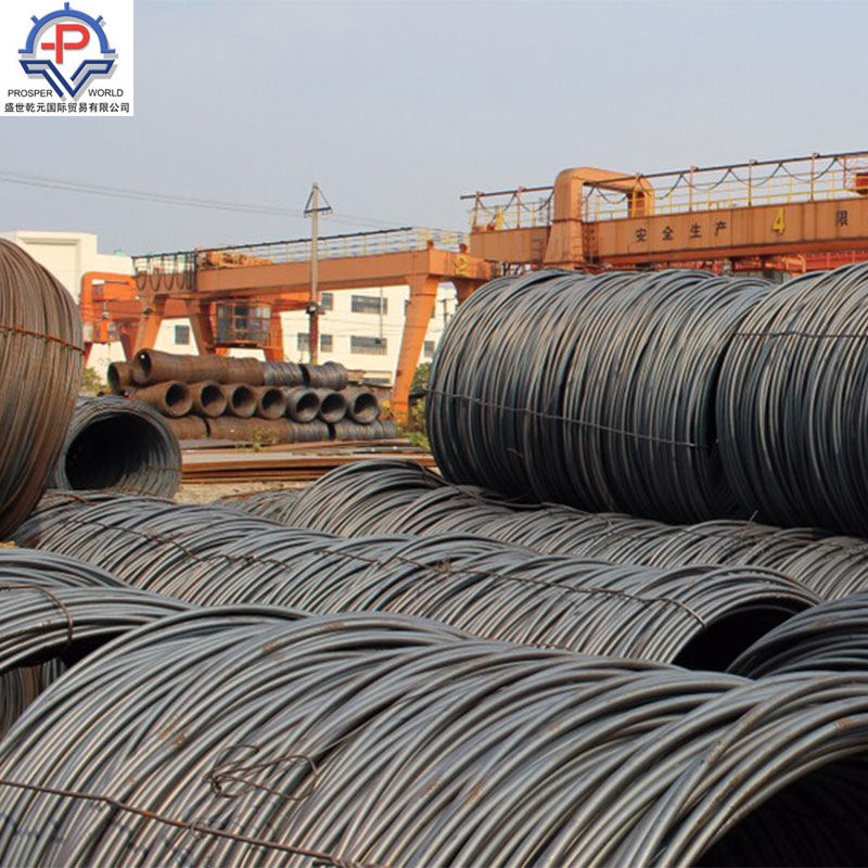 10mm bobina de jiujiang Anfeng hot rolled steel wire rod SAE1010 SAE1006