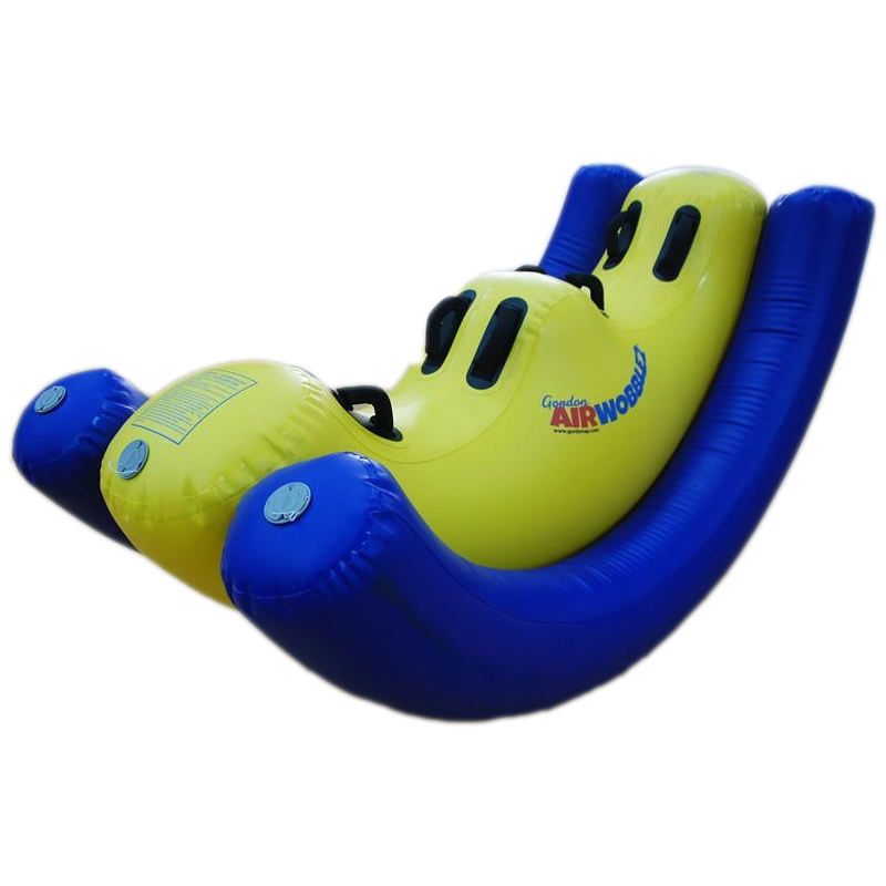 US Airplay Patent Cheer Amusement Air SeeSaw Kids Inflatable Toy Games Air Wobble For Beach Grass