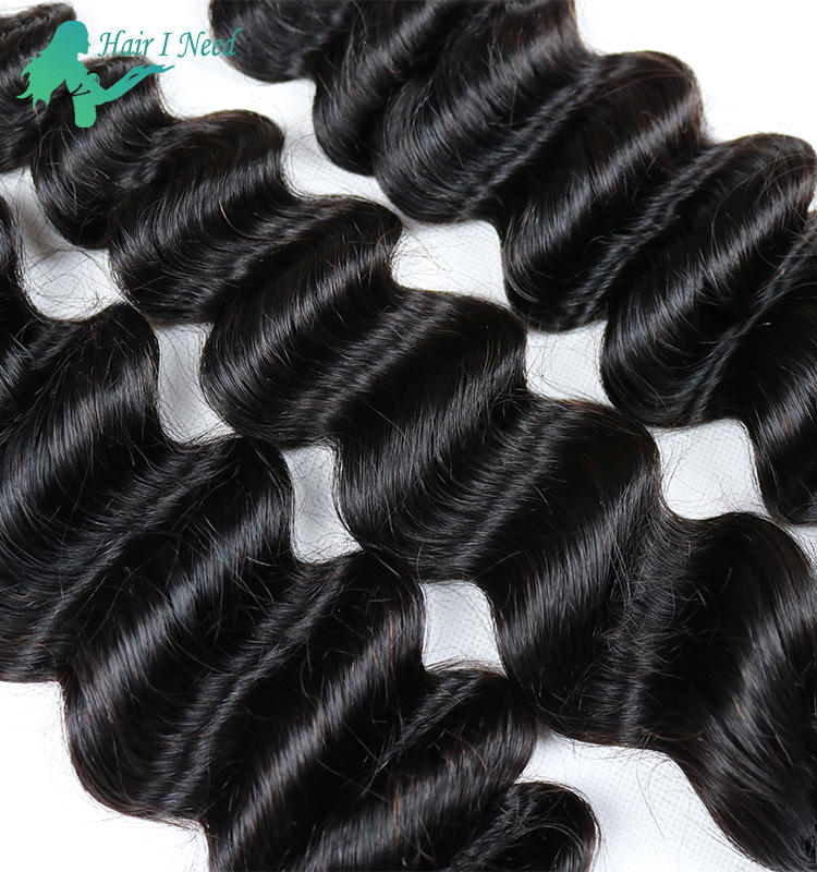 Alibaba China manufacturer can be dyed indian hair extension,6a virgin indian loose deep wave hair weft