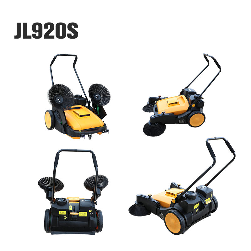 Hand Push/Electric Industrial Street Road Floor Cleaning Sweeper Machine Price