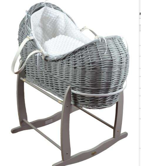 handmade infant basket stand baby moses basket with stand
