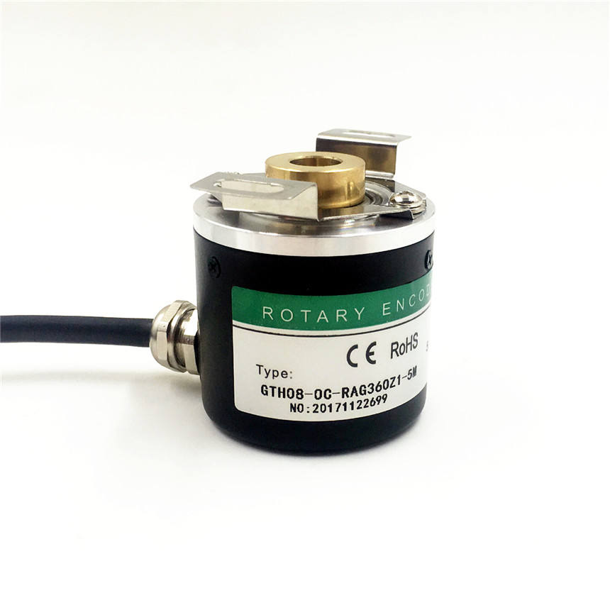 Built-in jenis rotary encoder 8mm poros berongga encoder rotary encoder china murah elektronik