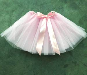 Sommer Kinder Kleidung Puffy Kinder Mini Rock 2-6Years Prinzessin Rosa Baby Mädchen Tüll Tutu Rock