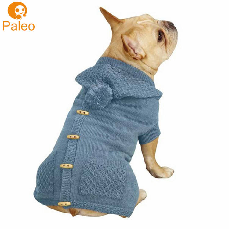 OEM ODM Factory pet accessories products winter dog apparel with knitting