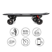 Smooth Acceleration Carver Drift Electronic Self Balancing Skate  Board With Aircraft Grade Deck