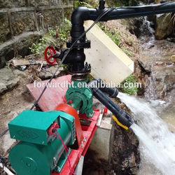 3kw brushless induction small hydroelectric generator, mini hydroelectric generator, pico hydro generator