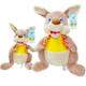 wholesale kawaii stuffed animal toys doll 25cm soft plush kangaroo kids gifts