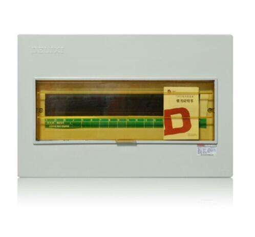 Indoor 18 way mcb electrical consumer unit box distribution board
