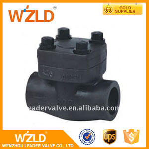 WZLD ASME16.34, API598 Normal Temperature Russian Flanged Socket Welded Check Valve