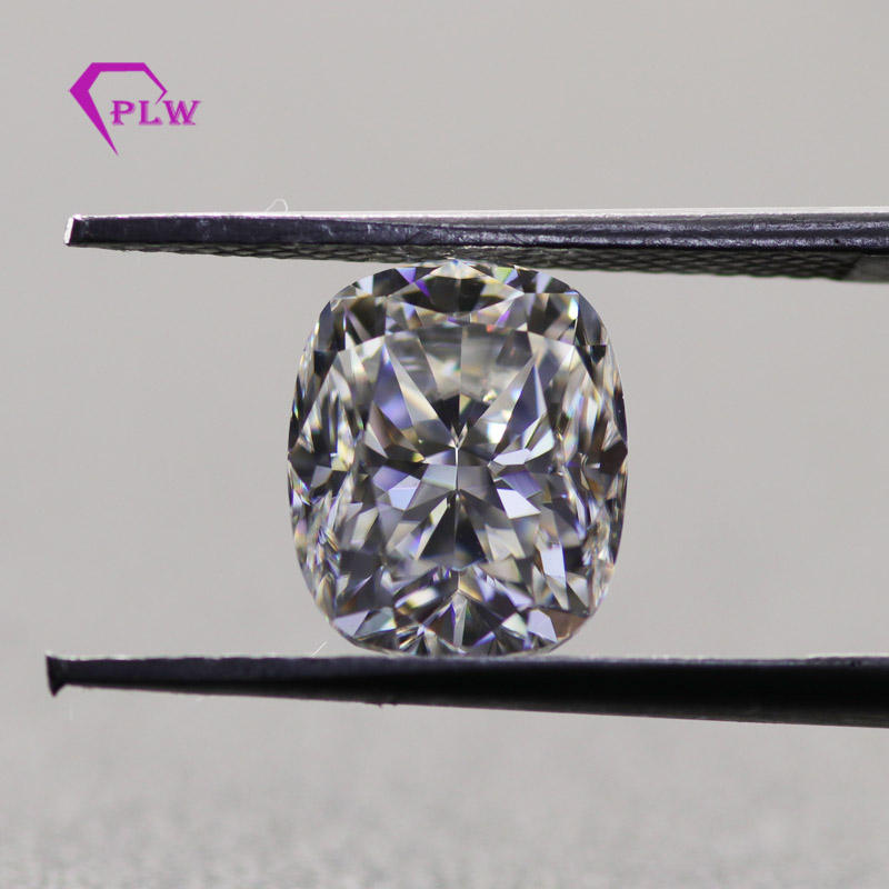 provence factory moissanite elongated cushion ice crushed cut moissanite loose stone
