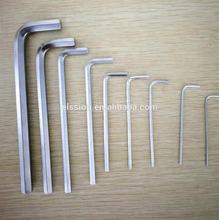 Full sizes of Flat end hex key / Allen key /Allen wrench