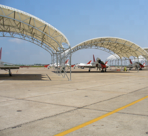 Aircraft tent Fabric storage shelter Garage canopy car parking tent warehouse shelter shade stable quality with cheap price