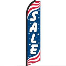 Super Bow Banner Sale Patriotic Feather Flag