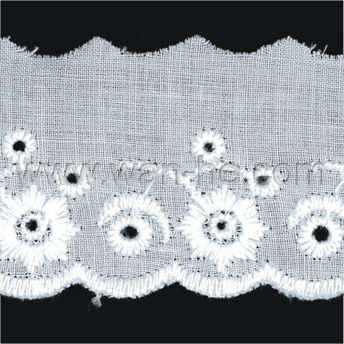 100% fine Cotton Lace