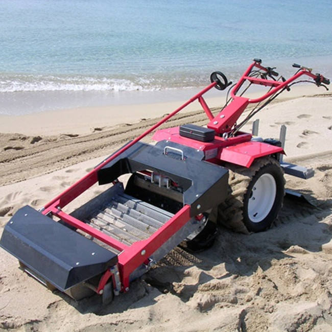 2020 Good Price Mini Tractor Mounted Beach Cleaning Machine