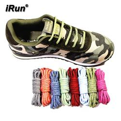 iRun Lace up Boot Rope Strings Round Laces Hiking Boot Strong Thick Climbing Bootlaces  Accept Custom for Air Sneaker