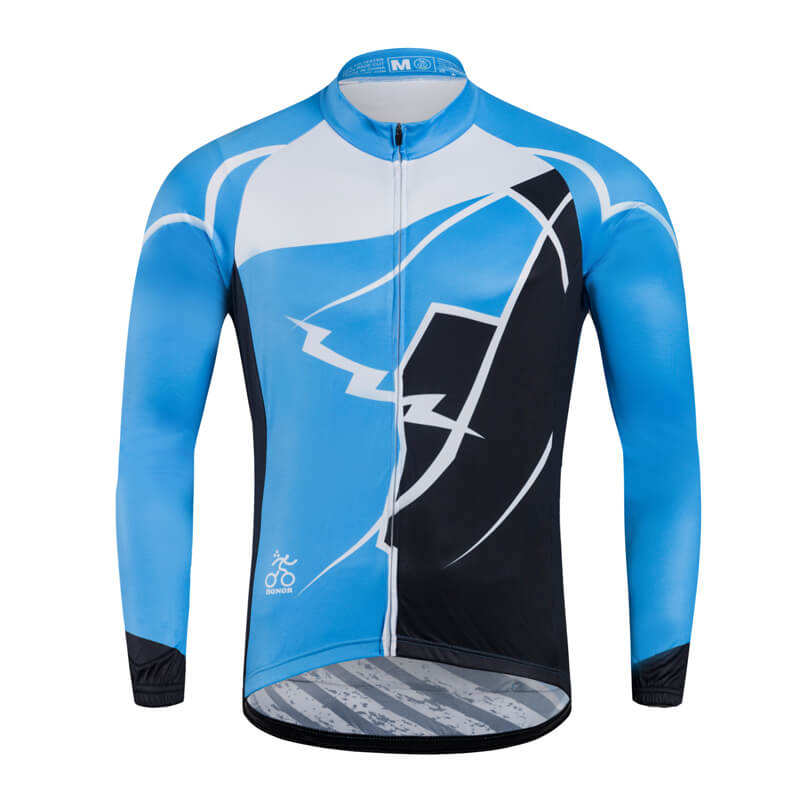 LS Lightening Pattern Pro Cycling Wear Quick Dry and Moisture-wicking Best Quality Professional MTB Cycling Jersey