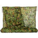 3D Leaf Woodland Fabric Multi Spectral Shadow Thermal Hunting Camo Netting Multispectral Anti-radar Army Camouflage Net