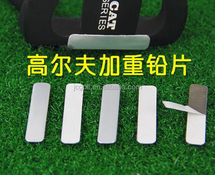 Adhesive Golf Lead Grip Tape Strips Add Weight to Golf Club Tennis Racket