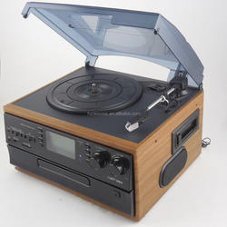 TR-19PCD good quality turntable record player phonograph radio