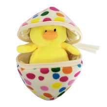 Bulk wholesale home decoration giant gift plush chick toy Easter egg