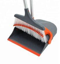 Ningbo EAST Lobby Cleaning Pp Folding Windproof Dust pan And Broom Set in Stock