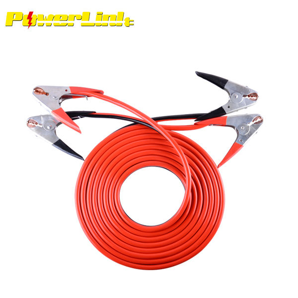 1000AMP Parrot Jaw Clamps Heavy Duty 25ft 2 Gauge Booster Cable Wire Fedex Ship