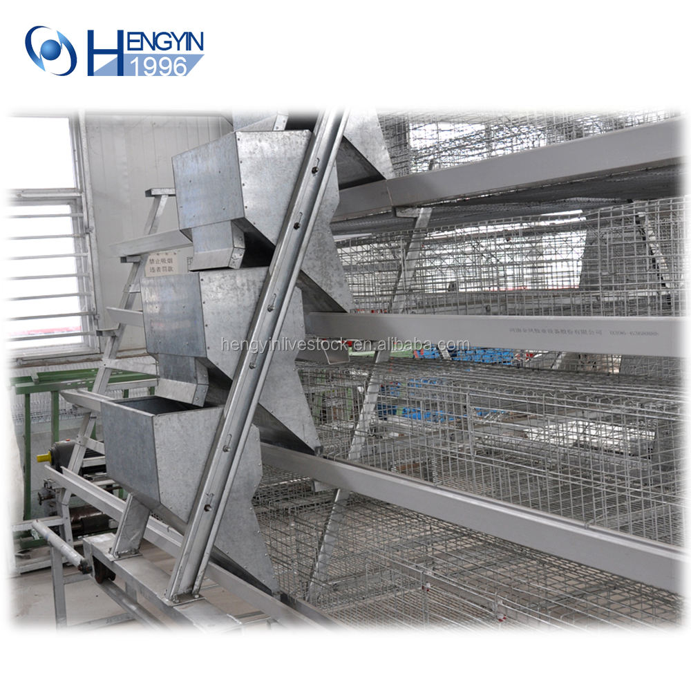 A type 3 tier layer chicken cage laying hens cages for egg poultry farming