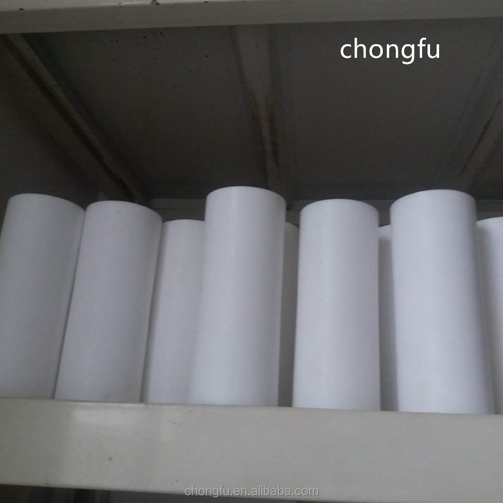 Factory direct customized pure polytetrafluoroethylene molding pipe White PTFE molded tube