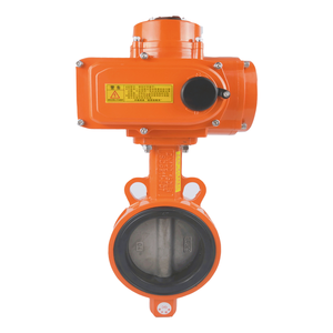 Make low cost electric actuator plus DN100 butterfly valve