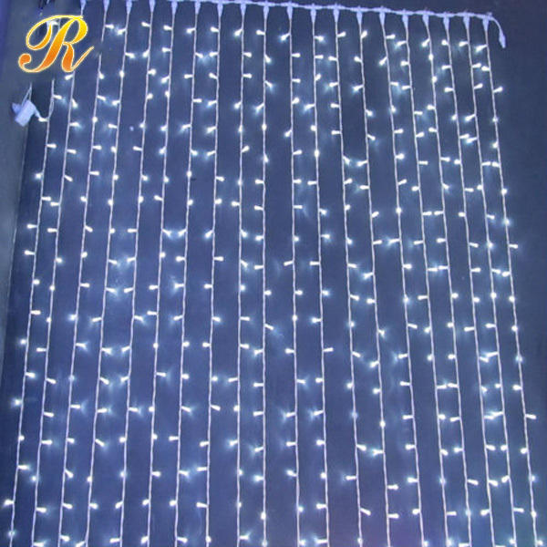 Outdoor light up led light curtain for sale