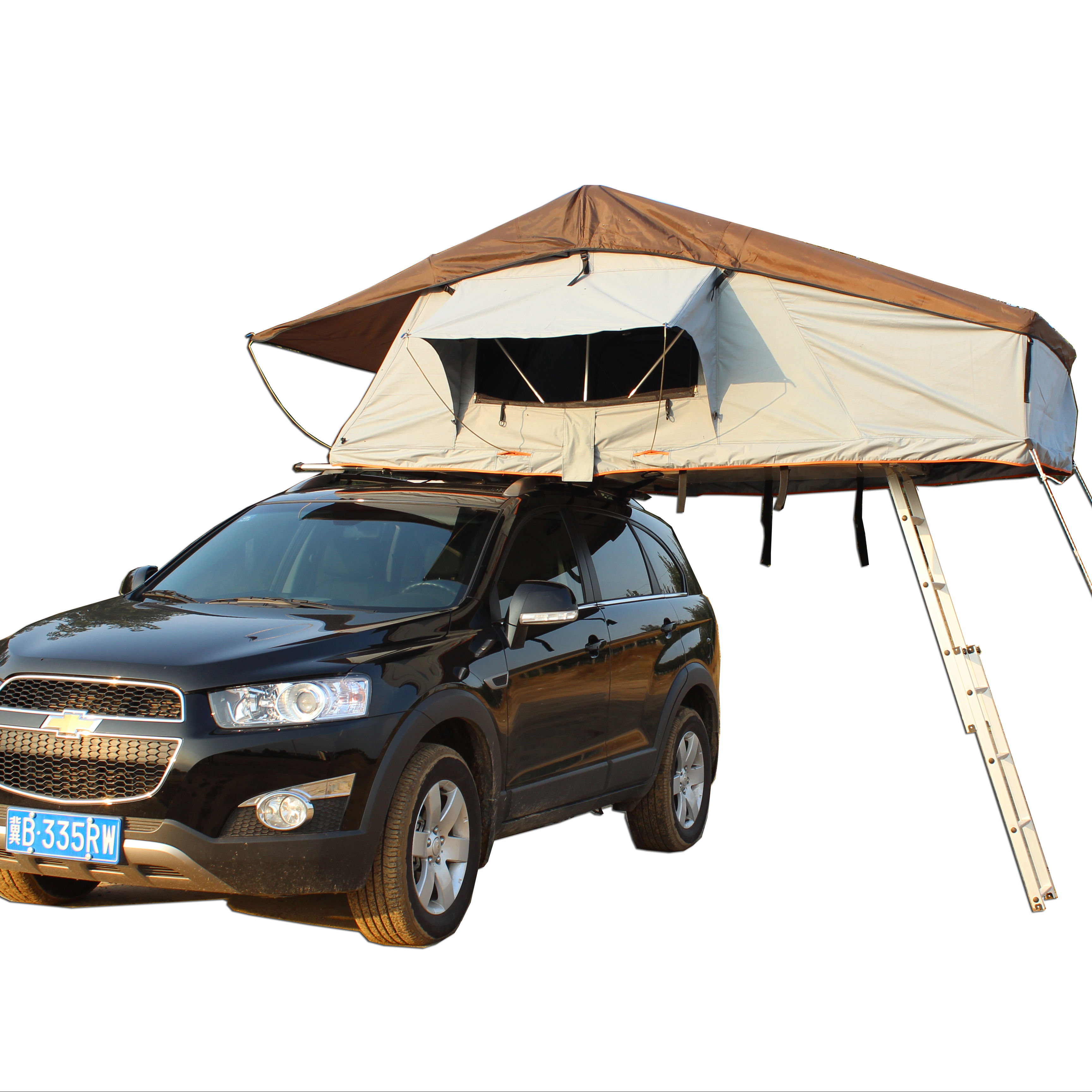 Wholesale Waterproof Overland Outdoor Camping 4 × 4 Car Accessories Roof Top Tent SRT01E-56