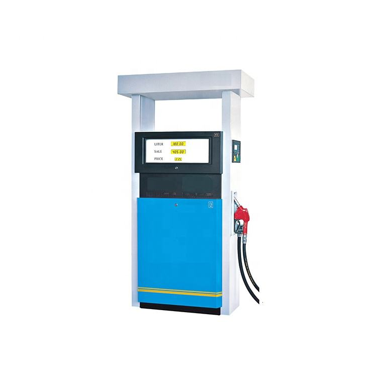Economic series auto shut-off nozzle fuel dispenser manufacturer wholesale single hose one pump petrol dispenser
