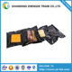 Vaccum bag with front clear black vacuum sealed bag