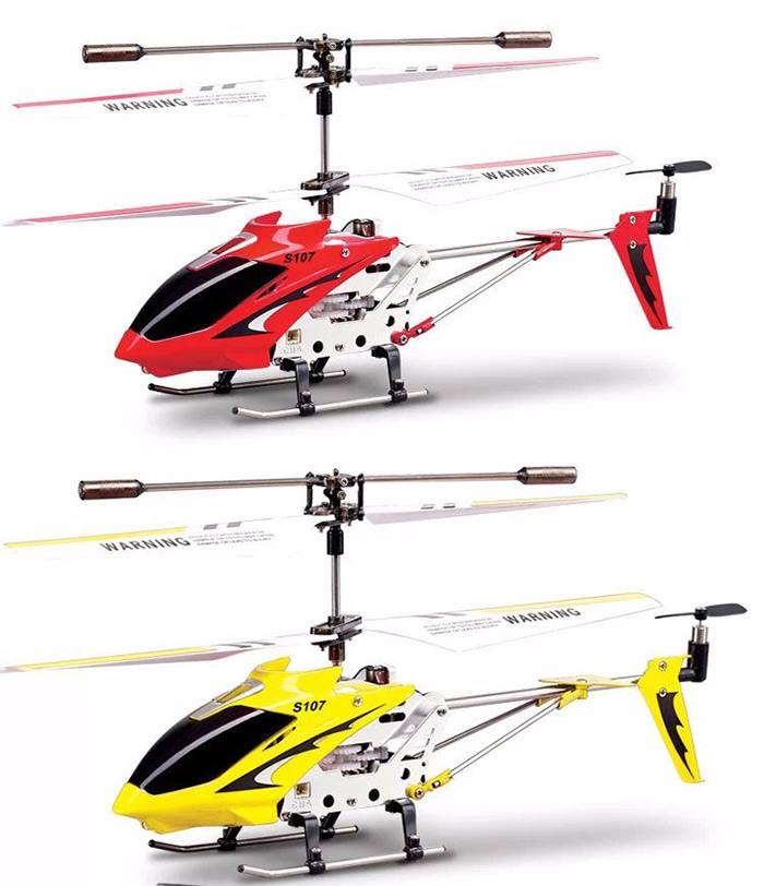 2019 Original SYMA S107G Helicopter 3CH Channel Remote Helicopter with Gyro and USB cable for Night Flying
