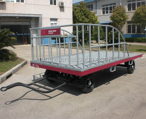 Airport Baggage Cart Aircraft Luggage Trolley Cart