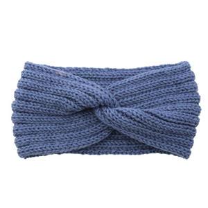 stocks cheap sale Fashion Amazon knitting colorful wool wash face hair accessories women girls crochet bow hairband