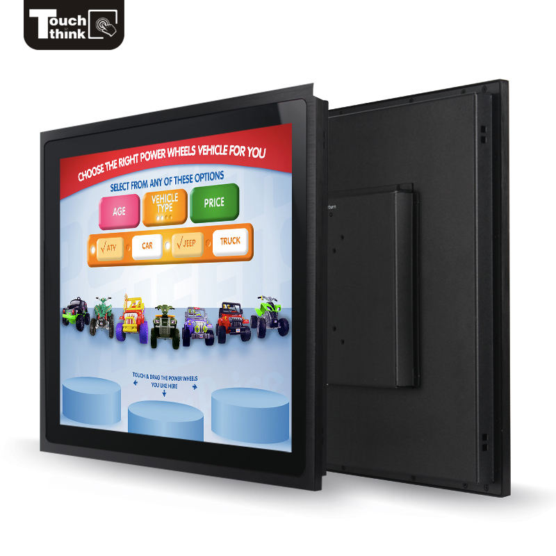 "8 inch HMI resistive touch screen lcd monitor/7"" 9.7"" 10"" 12"" 15"" 17"" 19"" 22"" touchscreen monitor"