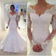 White Mermaid Vestidos De Novia Capped Floor Length Beaded Wedding Dresses High Quality Lace Applique Backless Wedding Gown