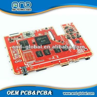 tablet pc moederbord/pcba, pcb montageservice